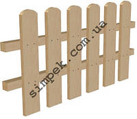 Ограда для клумбы высота 50 см