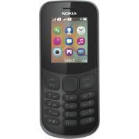 Мобильный телефон NOKIA 130 Dual SIM (black) TA-1017