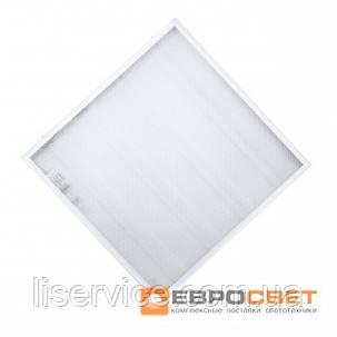 Потолочный светодиодный светильник Евросвет LED-SH-595-20 prismatic 36Вт 4000К , фото 2