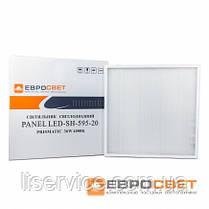 Потолочный светодиодный светильник Евросвет LED-SH-595-20 prismatic 36Вт 4000К , фото 3