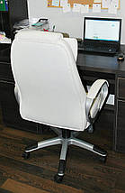 Шикарное белое кресло Georg, фото 2