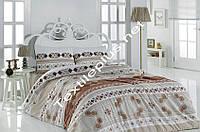 Постельное белье евро First Choice фланель Nida Турция