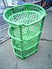 Этажерка пластиковая для ванной и кухни (Зелёная)