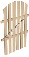 Секционный деревянный забор высота 1,5 м