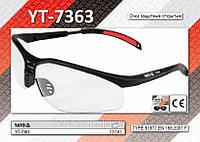 Очки защитные открытые,  YATO  YT-7363, фото 1