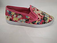 Макасины- Тапочки  Цветы 31-35