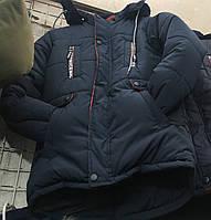 Детская зимняя куртка для мальчика оптом на 10-15 лет