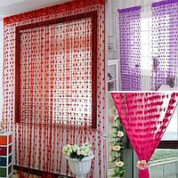Красивая кисточка в форме сердца дверь занавес окна украшения для дома