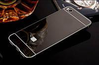 Металлический бампер с акриловой вставкой с зеркальным покрытием для Xiaomi Mi 5s