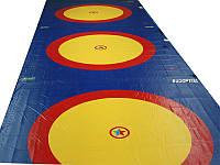 Борцовский ковёр для борьбы, дзюдо 10х10м, толщина 40мм OSPORT