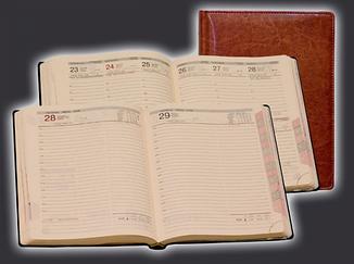 Ежедневник WDB5 датированный Перфект(кожа)+МК