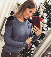 """Модный женский свитер """"Памэлла"""", фото 1"""