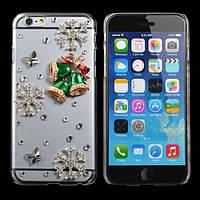 Рождественский подарок ручной работы побрякушки звенят колокола форма чехол для iPhone 6