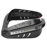 12v мотоцикл защитный DRL LED индикатор кисти руки охранники черный
