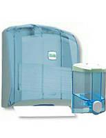 Набор для туалетной комнаты: дозатор мыла и держатель бумажных полотенец
