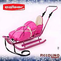 Конверт для санок PICCOLINO Adbor (розовый), фото 1