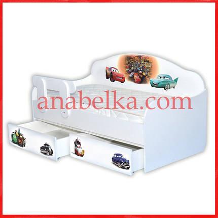 """Кроватка диванчик """"Тачки - 3"""" (Mebelkon), фото 2"""