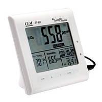 Цем ДТ-802 0-9999ppm многофункциональный монитор качества воздуха СО2 метр
