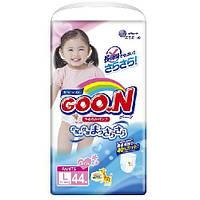 Трусики-подгузники GOO. N для девочек 9-14 кг (размер L, 44 шт) Goo. N (853081)