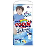 Трусики-подгузники GOO. N для мальчиков 12-20 кг (размер Big (XL), 38 шт) Goo. N (853082)