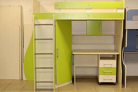 Детская кровать-чердак купить в интернет магазине в Одессе