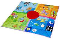 Развивающий коврик ВРЕМЕНА ГОДА 100х100 см Taf Toys (11185)