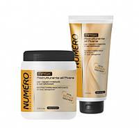 Маска для восстановления структуры волос с экстрактом овса Brelil Numero Total Repair Mask  300мл