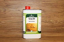 Натуральное тунговое масло, Tung Oil, Borma Wachs, Exterior Line, Прозрачное, 500 мл.