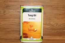 Натуральное тунговое масло, Tung Oil, Borma Wachs, Exterior Line, Прозрачное, 1 литр