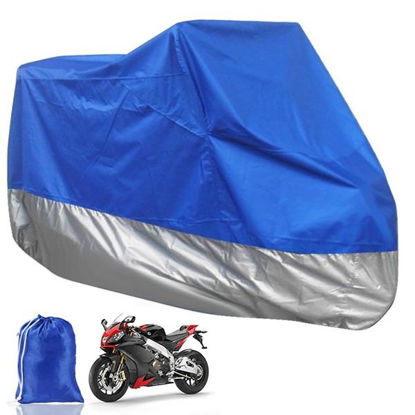 Мотоцикл скутер водонепроницаемый защитный чехол от дождя XL синий - ➊TopShop ➠ Товары из Китая с бесплатной доставкой в Украину! в Днепре
