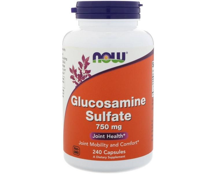 Glucosamine Sulfate 750 mg 240 caps