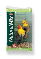 Padovav Naturalmix Parrocchetti 0,85 кг - Основной корм для средних попугаев (нерозлучники, кореллы)