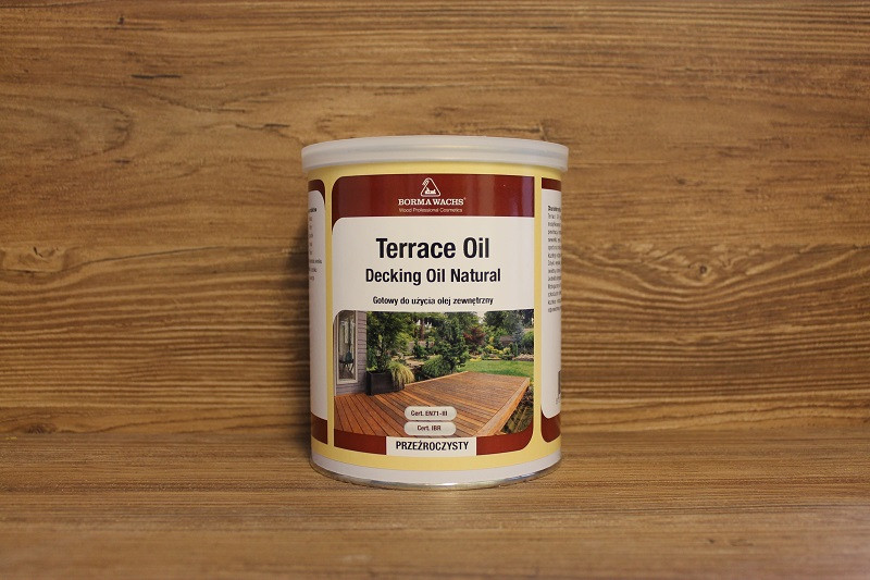 Terrace oil danish oil 1 for Danish terrace
