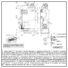 Котел газовый парапетный АТЕМ Житомир-Турбо КС-ГВ-012СН, фото 2