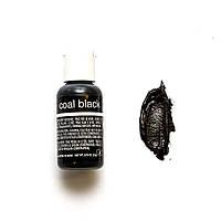 Гелевый краситель Chefmaster Liqua-Gel Coal Black/Черный