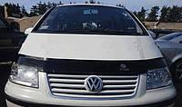 Мухобойка на капот VW Sharan 2 c 2000+