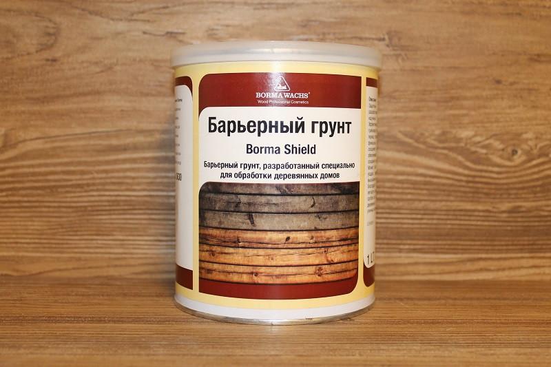 Грунт для временной обработки торцов древесины, Borma Holzschulz