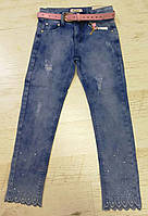 Джинсы для девочек оптом Seagull 116-146 см, №.CSQ-89780