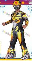 Детский карнавальный костюм для мальчиков Робот-Трансформер Bumble Man р.141-164