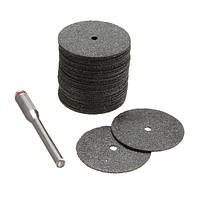 22мм 35шт электрического шлифовального круга режущие лезвия инструментов черный