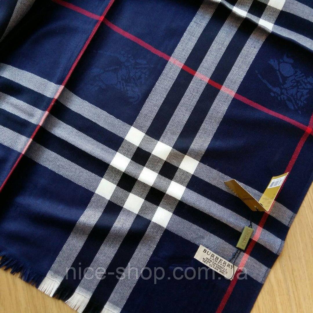 Палантин Burberry темно-синий  продажа, цена в Одессе. платки, шали ... 3981cdae8ea