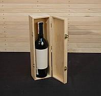 Заготовка для декупажа. Футляр для бутылки вина 36х10х9(ф7)(см)