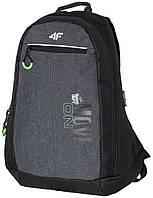 Рюкзак 4F чорний/сірий (H4Z17-PCU002-1945)