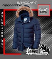 Куртка с мехом мужская стильная