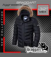 Зимняя куртка с мехом мужская
