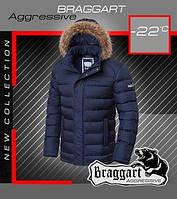 Мужская зимняя короткая куртка
