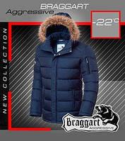 Брендовая короткая куртка с капюшоном
