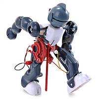 Симпатичные солнечного света diy электрических акробатика робот робот 3-режиме Ассамблеи для детей