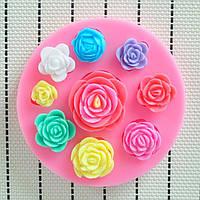 3D Силиконовый Форма для выпечки в форме торта из розового торта