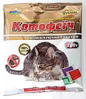 Котофеич тесто, яд от крыс и мышей, 200г, микс